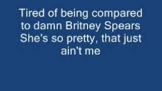 Pink- Don't let me get me lyrics