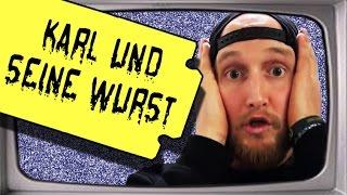YouTube Kacke - Karl und seine Wurst (Stupido schneidet)