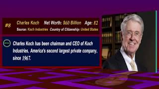 Richest Man in the World - Part 18 (#8) - Charles Koch