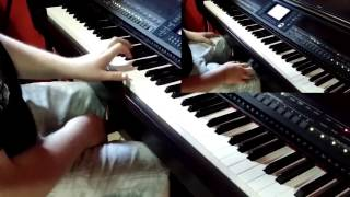 The Promised Future Aeons Cover keyboard intro