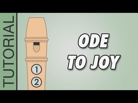 Comment jouer l'Ode à la Joie de Beethoven à la flûte