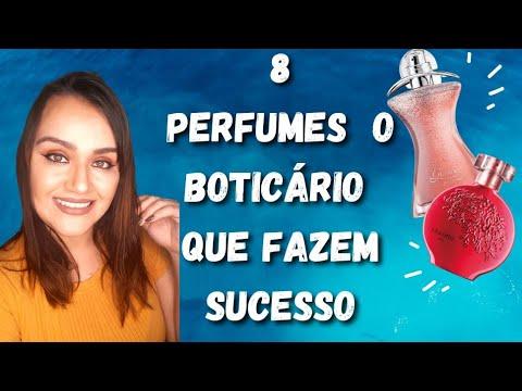 8 PERFUMES O BOTICÁRIO QUE FAZEM MUITO SUCESSO 🤩
