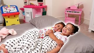 ELLE'S FIRST SLEEPOVER!!! (YOU WON'T BELIEVE WHAT HAPPENED) width=