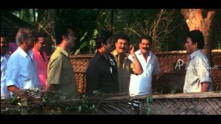 Vamanapuram Bus Route Malayalam Movie | Mohanlal | Force Jagadish to Cut Tree width=