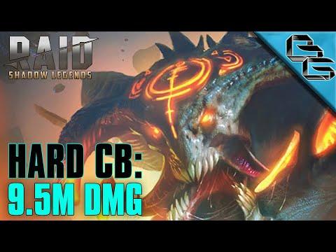 RAID: Shadow Legends | Hard Clan Boss Ep.1 | 9.5M DAMAGE!! | F2P
