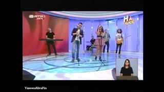 Vanessa Silva & David Antunes - Não Te Quero Mais  (Há Tarde - RTP1)