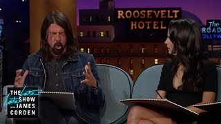 Dave Grohl and Rainn Wilson Talk Bands