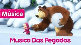 Masha e o Urso - Musica Das Pegadas (Pegadas de Animais  Desconhecidos)