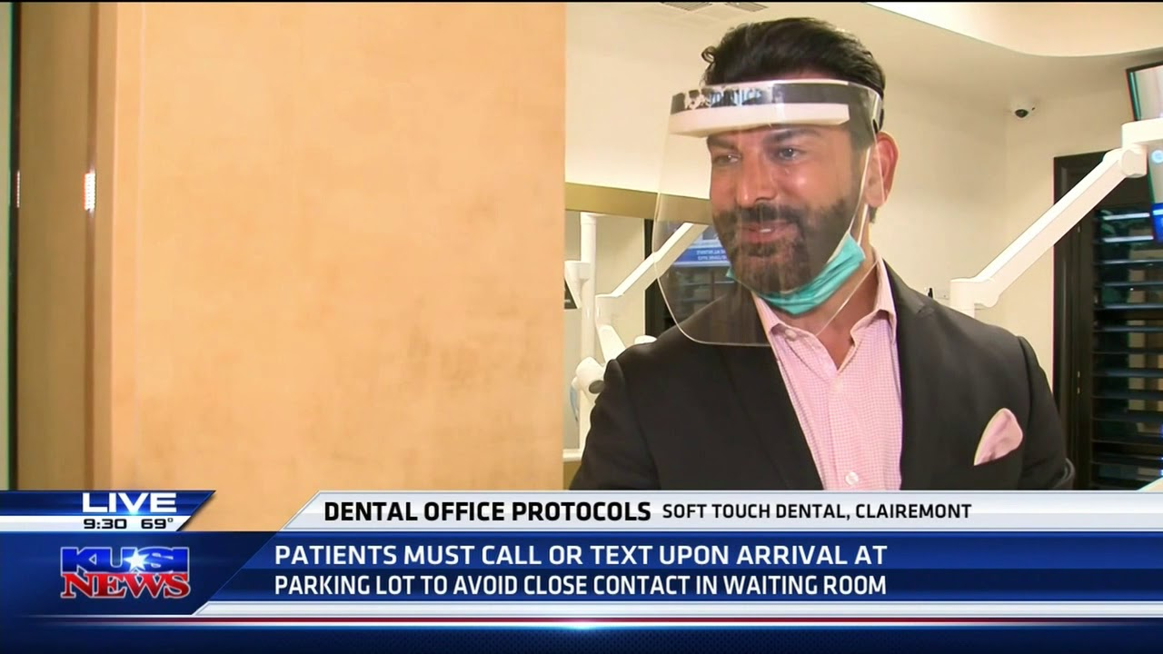 Dental Office Protocol - Soft Touch Dental - KUSI TV Part 3