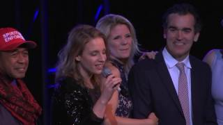 Bway Stars sing What the World Needs Now Is Love #Concert4America 1.20.17