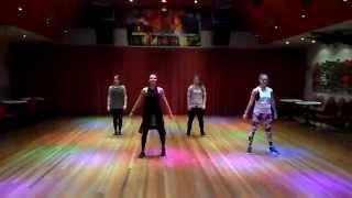 Omi - Cheerleader Zumba routine