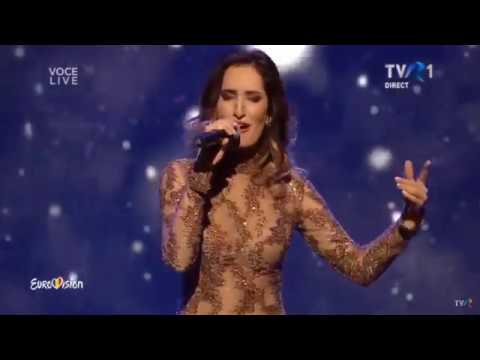 Carolina Gorun - Reach out for the stars | Semifinala Eurovision 2018