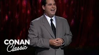 """Paul F. Tompkins Stand-Up On """"Late Night With Conan O'Brien"""" 07/23/98"""