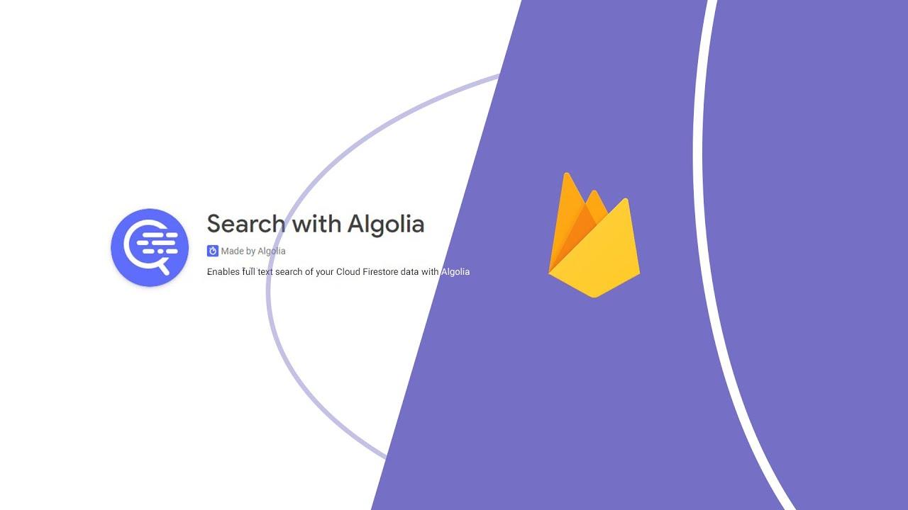 Algolia Cloud Firestore Extension
