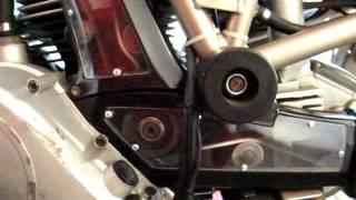Ducati Super Sport 600 nuda open cam belt cover