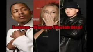 Eminem Warning ft Mariah Carey Diss + Lyrics *FREESTYLE*