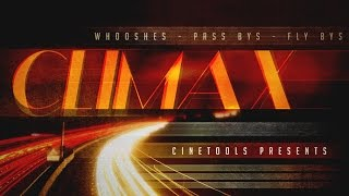CLIMAX - Cinematic Transition & Action Effects Samples -  By Cinetools