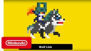 Super Mario Maker - 'Wolf Link' Gameplay