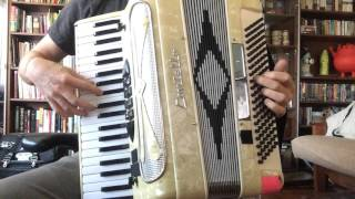 """Ghostbusters """"Main Title Theme"""" - Elmer Bernstein (accordion cover)"""