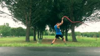 training compilation: Rope dart, whip and sword / Wonder Woman theme by Tina Guo