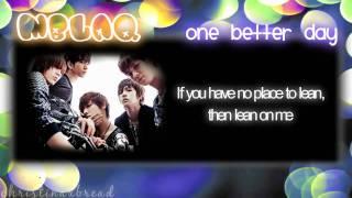HD [ENG.LYRICS] MBLAQ - One Better Day