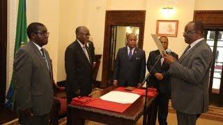 Live: Taarifa ya Habari Kutoka TBC 1, Rais JPM Awaapisha Wajumbe Kamati ya  Mchanga wa Madini width=