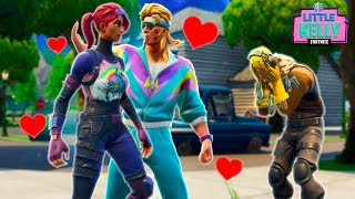 RAPTOR CATCHES LITTLE KELLY CHEATING - Fortnite Short Film
