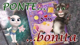 Ponte Bonita | Mario Hart ft talking Tom | Parodia