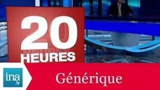 Générique 20h France 2 2006 - Archive INA