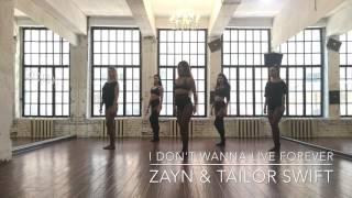 I DON'T WANNA LIVE FOREVER (FIFTY SHADES DARKER) ZAYN | TAYLOR SWIFT choreo by Katerina Surkova