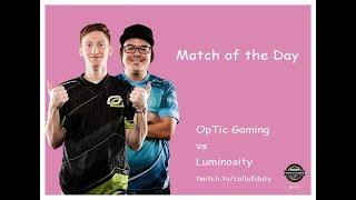 OpTic Gaming vs Luminosity | CWL Pro League 2019 | Division A | Week 2 | Day 4