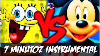Instrumental - Bob Esponja VS. Mickey Mouse | Duelo De Titãs Part Tec Plays (7 Minutoz)