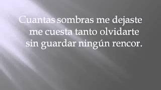 Lyrics Yo te ame Gabriel Coronel