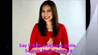 Datin Sharifah Shawati - How to Give Compliments Gracefully width=