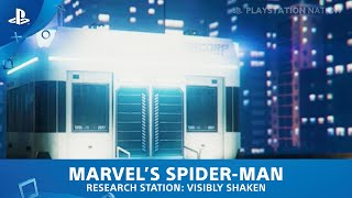 Marvel's Spider-Man (PS4) - Research Station - Visibly Shaken