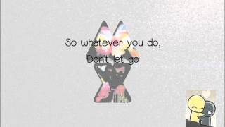 Us Against The World - Coldplay with Lyrics, pictures, animation