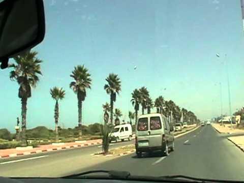 El Jadida to Houzia beach