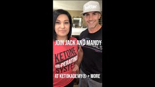 Join Mandy and Jack Mitchell at KetoKademy + MORE