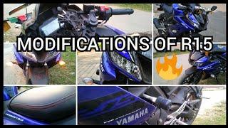 MODIFICATIONS OF YAMAHA R15 V3 | PART 1