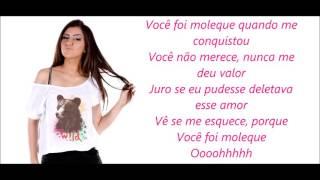Você foi moleque-Sofia Oliveira-Letra