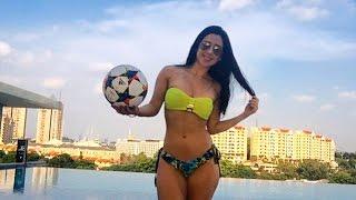 Soccer in Stilettos? It's No Sweat For Raquel Benetti