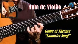 Game of Thrones Lannister Song  violão