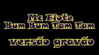 Mc Fiote -Bum Bum Tam Tam- versão Grave automotivo