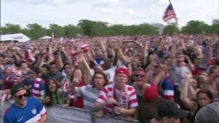 Soccer on the rise in the U.S.?