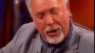 Sir Tom Jones Plays Guitar and Sings