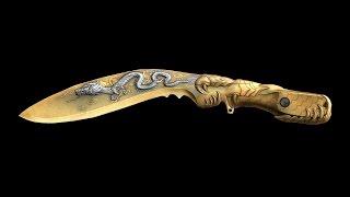 Clip quay Kukri Beast Noble Gold của Quang Brave ✔