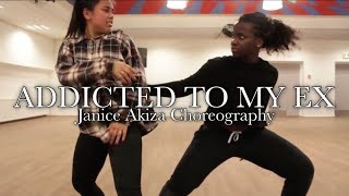 M City JR - Addicted to my ex   Janice Akiza Choreography
