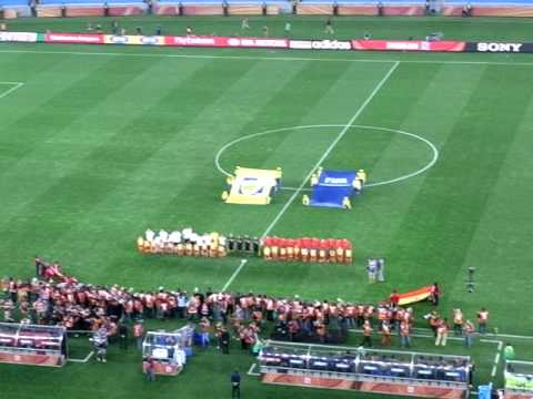 South Africa World Cup 2010–Germany vs Spain