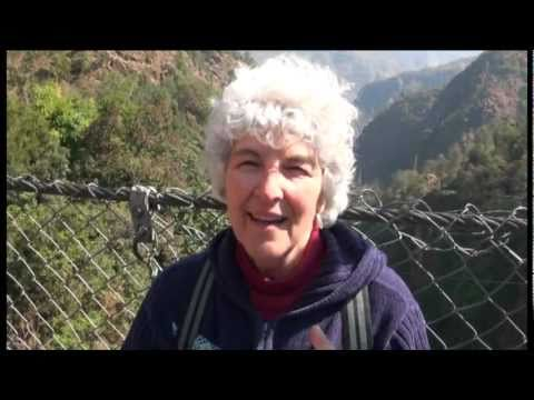 My Bungee Jump at the Last Resort in Nepal (64 yr old woman)