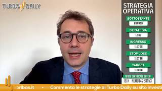 Turbo Daily 23.04.2020 - Chiudiamo Intesa e compriamo EURUSD